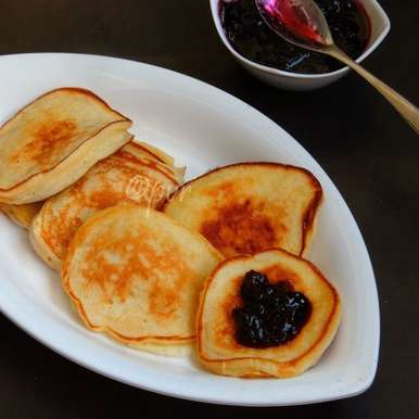 Photo of Oladi - Russian Pancakes by Priya Suresh at BetterButter