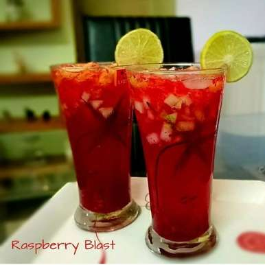 Photo of Raspberry Blast by Deepak Purohit at BetterButter