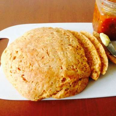 Photo of Homemade Cheese Bread by Manini Badlani at BetterButter