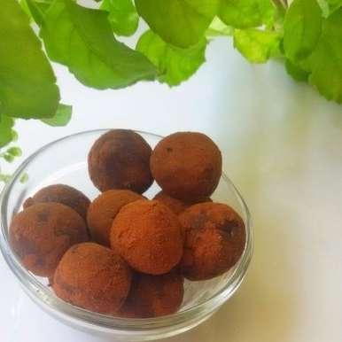 Photo of Condensed Milk Chocolate Truffles  by Srividhya Ravikumar at BetterButter