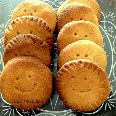 Photo of Whole Wheat Cookies by silpa jorna at BetterButter