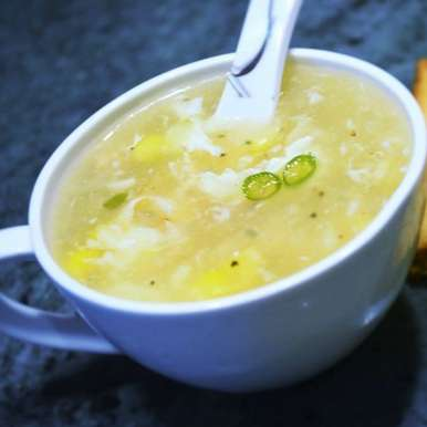 Photo of Chicken Sweet Corn Soup by Shonali Debnath at BetterButter