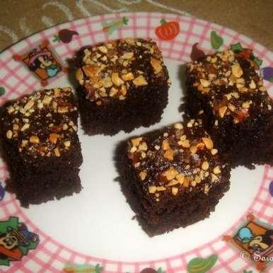 Photo of Eggless Chocolate Brownies by sharanya palanisshami at BetterButter