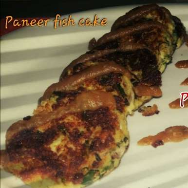 Photo of Paneer Fish Cake with Apple chutney by Aarti Nijapkar at BetterButter
