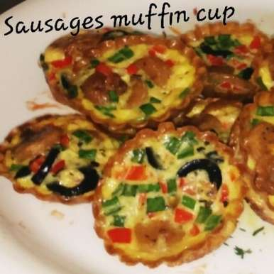 Photo of Sausages Muffin Cup by Aarti Nijapkar at BetterButter