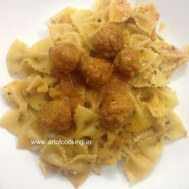 Photo of Pasta with Meatballs by Prabal Kirtika at BetterButter