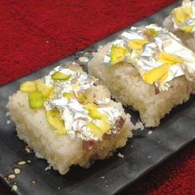 Naralachi Vadi, How to make Naralachi Vadi