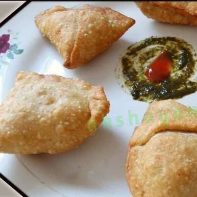Photo of Multi-grain Samosas by Krithika Chandrasekaran at BetterButter