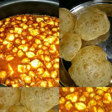 Photo of Chole Puri by Ms. Falguni Kapadia at BetterButter