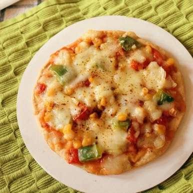 Photo of Bhakri Pizza by Vama Dattani at BetterButter