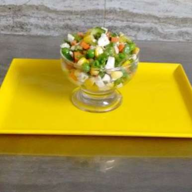 Photo of sweet corn salad with veggies by Seema Manishkrishna at BetterButter