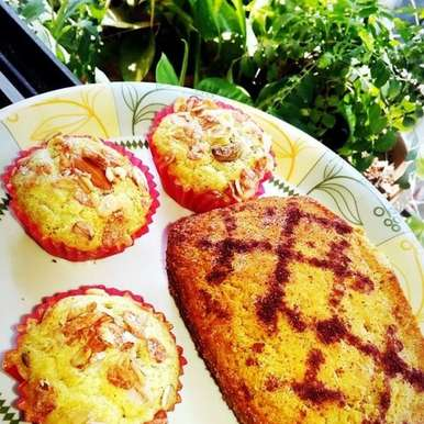 Photo of Oats & Whole Wheat  Muffin by Aarti Nijapkar at BetterButter