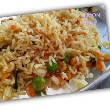 Photo of Lemon Rice by Krithika Chandrasekaran at BetterButter