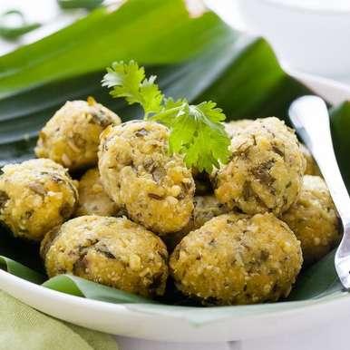 Photo of Nuchinunde - Steamed Lentil Dumplings by Nandita Shyam at BetterButter