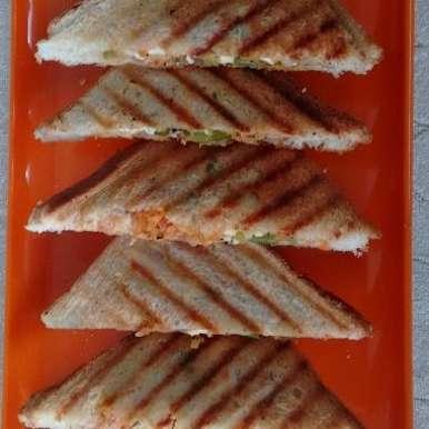 Photo of healthy mayonnaise sandwich by Seema Manishkrishna at BetterButter
