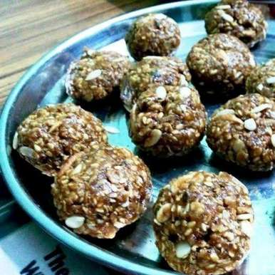Photo of Coconutty Oats Pinni by Ramesh Ramesh at BetterButter