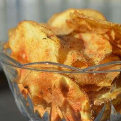 No-Fry Potato chips, How to make No-Fry Potato chips