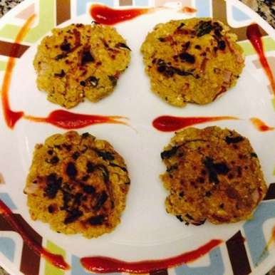 Photo of Oats Tikkis or Oats Patties or Oats cutlets  (Healthy Tikki) by Ankita Agarwal at BetterButter