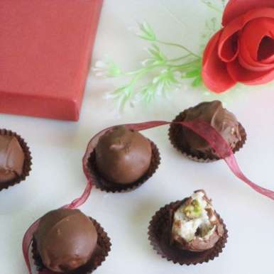 Photo of Choco - paneer truffles by Nusrath Jahan at BetterButter