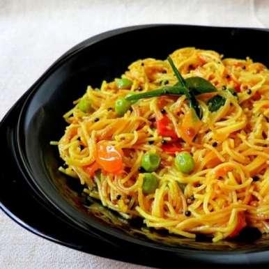 Sevai Upma recipe in Hindi,सेवई उपमा ।, Anjana Chaturvedi