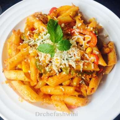 Photo of Penne arrabiata by Ashwini Patil at BetterButter