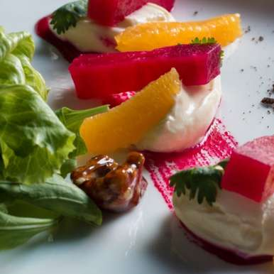 Photo of Beet root and Mascarpone Salad by Tabula Beach at BetterButter