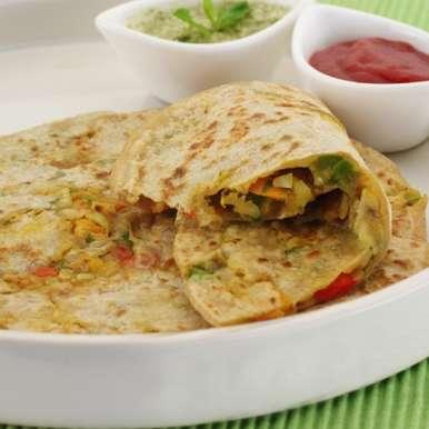 Photo of Vegetable roti by Sujata Limbu at BetterButter