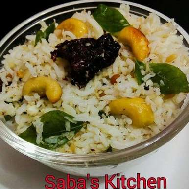 Photo of Coconut Rice by Saba Rehman at BetterButter