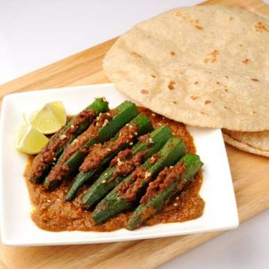 Photo of Stuffed bhindi by Sehej Mann at BetterButter