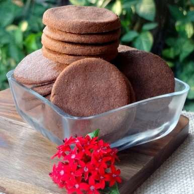 Photo of Wholegrain Chocolate Cookies by Namita Tiwari at BetterButter
