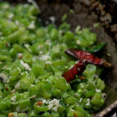 Photo of French Beans Poriyal by Guna Organics at BetterButter