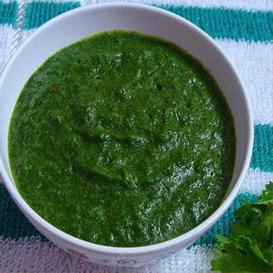 Photo of Green Coriander & Mint Chutney by Guna Organics at BetterButter
