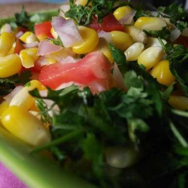 Photo of Simple Corn Tomato Salad by U K at BetterButter