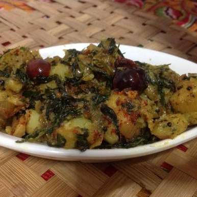 Photo of Aloo Methi by U K at BetterButter