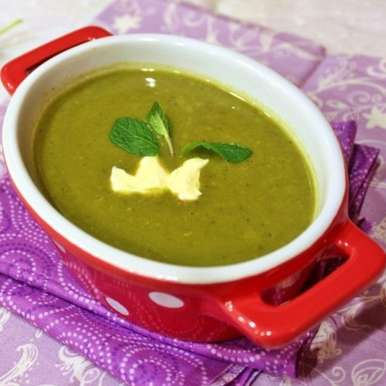 Photo of Moong and Spinach Soup by Guna Organics at BetterButter
