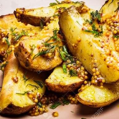 Photo of Potato Sticks with Mustard Seeds by Guna Organics at BetterButter