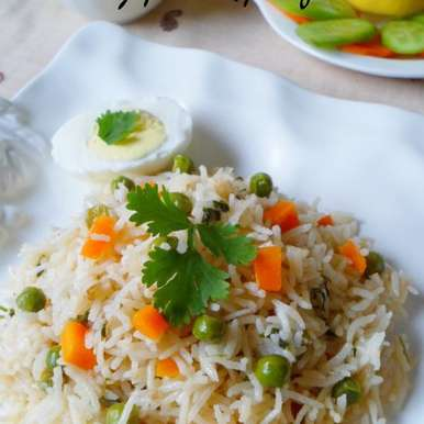 Photo of Mix vegetable pulao/pilaf by Nusrath Jahan at BetterButter