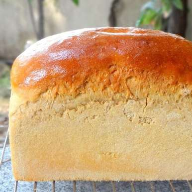 Photo of 100% Whole Wheat Bread (Atta Bread) by Namita Tiwari at BetterButter