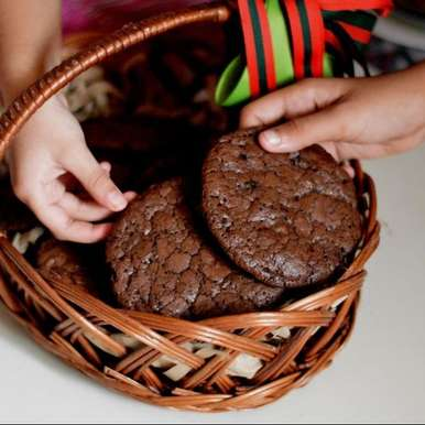 Photo of Chocolate fudge cookies by pooja khanna at BetterButter