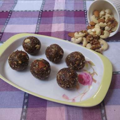 Photo of Dry Fruit Ladoo by Amrita Roy at BetterButter