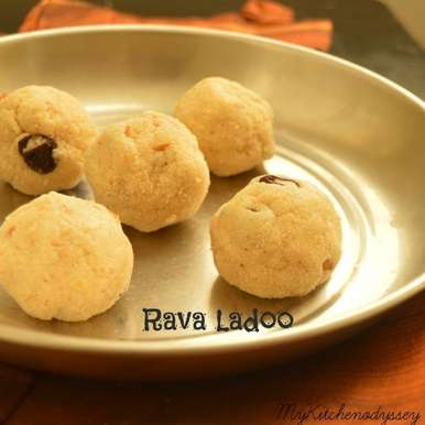 Photo of Rava laddu by Sathya Priya Karthik at BetterButter
