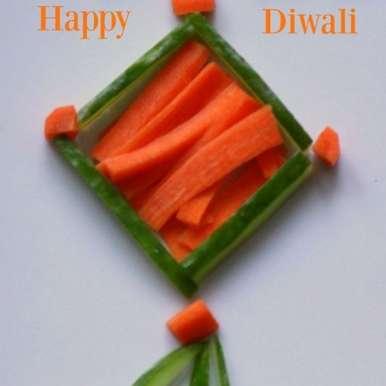 Edible Diwali Kandeel, How to make Edible Diwali Kandeel