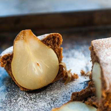 Photo of Cake with whole pears by Gabriela Lupu at BetterButter
