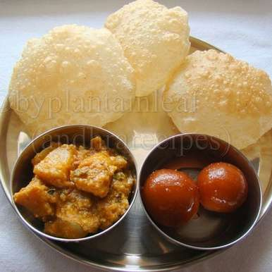 Photo of Kachori and Aloo Ki Tari (Banarasi Style) by Padma Rekha at BetterButter