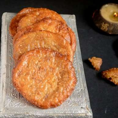 Photo of Adhirasam - Traditional sweet for Diwali from South India by Jyothi Rajesh at BetterButter