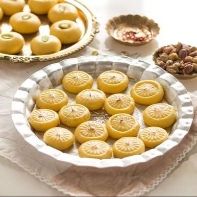 Photo of Instant Kesar Peda by Jyothi Rajesh at BetterButter