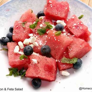 Photo of Watermelon & Feta Salad by Linsy Patel at BetterButter