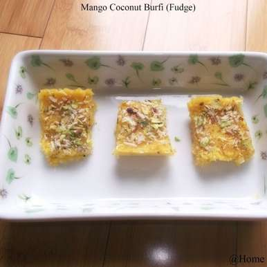 Photo of Mango Coconut Burfi by Linsy Patel at BetterButter