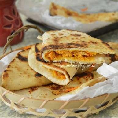 Photo of Chicken filled Tortillas by Febina Farook at BetterButter