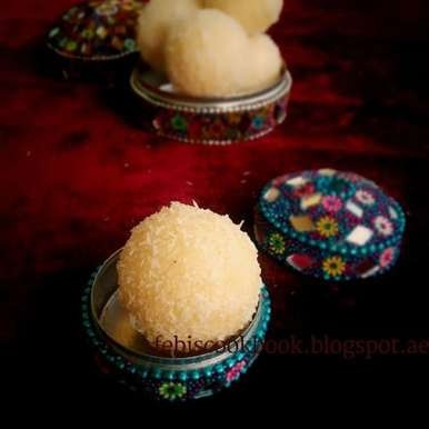 Photo of COCONUT LADDOO by Febina Farook at BetterButter